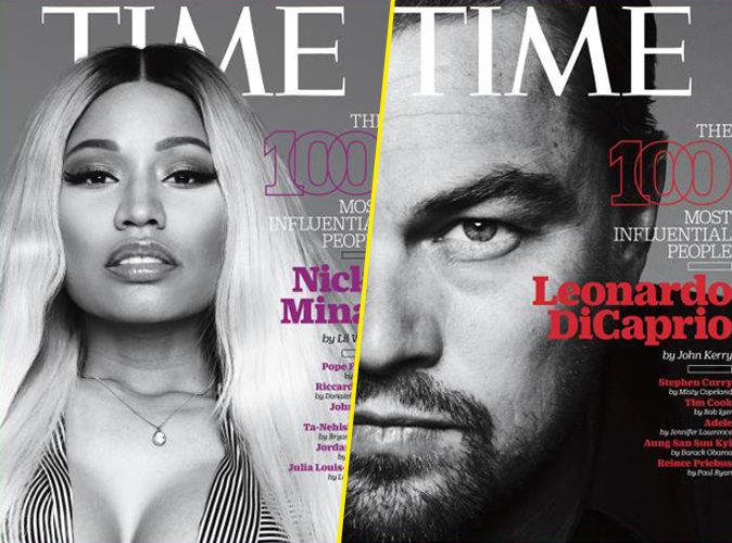 """Photos : Nicki Minaj et Leonardo DiCaprio parmi les personnalités les plus influentes du """"Time"""""""