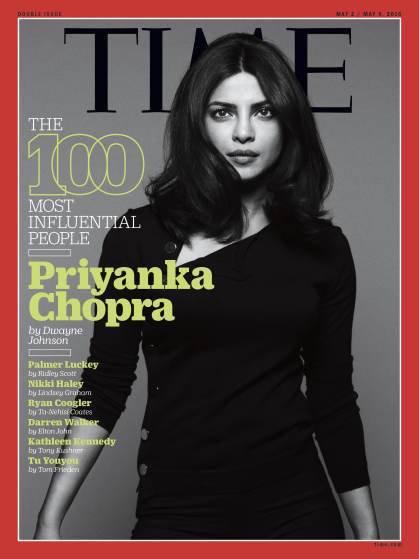 "Photos : Priyanka Chopra parmi les personnalités les plus influentes du ""Time"""