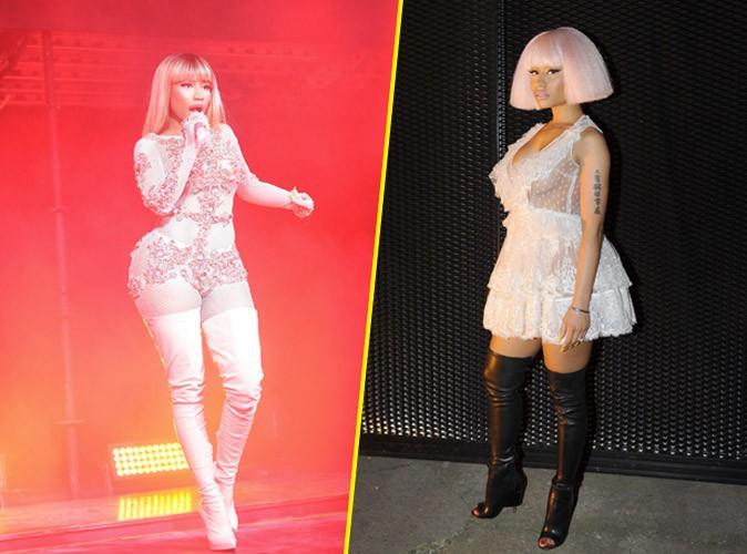 Photos : Nicki Minaj exhibe son gros booty pour Givenchy !