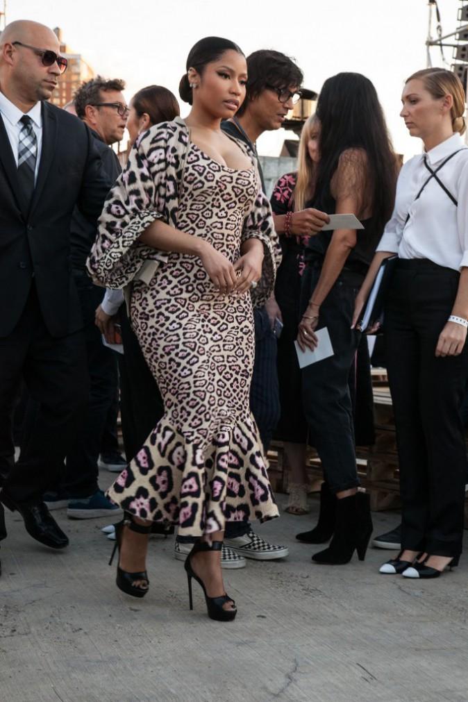 Nicki Minaj au défilé Givenchy le 11 septembre 2015