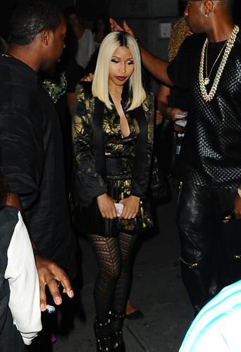 Nicki Minaj à New-York le 22 août 2013