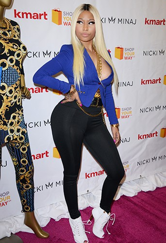 Nicki Minaj à Los Angeles le 15 octobre 2013