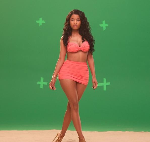 Photos : Nicki Minaj : ultra-sexy pour un nouveau spot publicitaire !