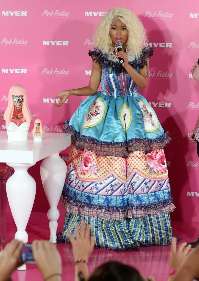 Nicki MInaj à Sydney le 29 novembre 2012