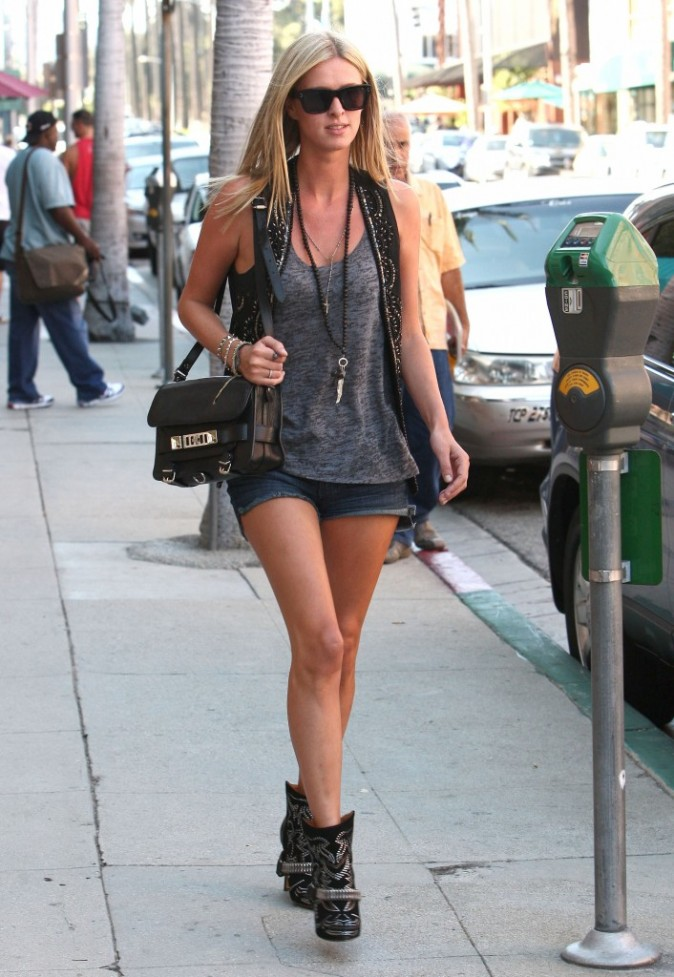 Nicky Hilton, Beverly Hills, 4 septembre 2012.
