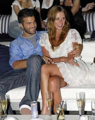 Nicky Hilton et David Katzenberg lors d'une soirée au Grand Resort Hotel près d'Athènes en Grèce, le 22 juin 2007.