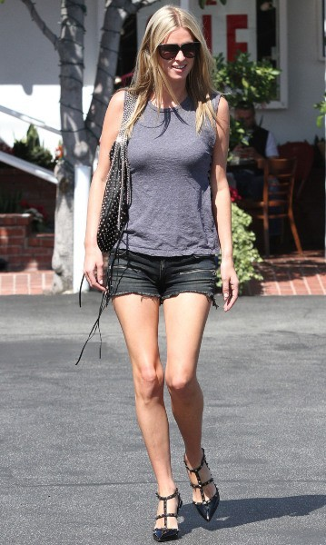 Nicky Hilton, Los Angeles, 27 septembre 2012.