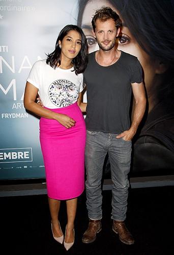 Leïla Bekhti et Nicolas Duvauchelle à Paris le 2 septembre 2014
