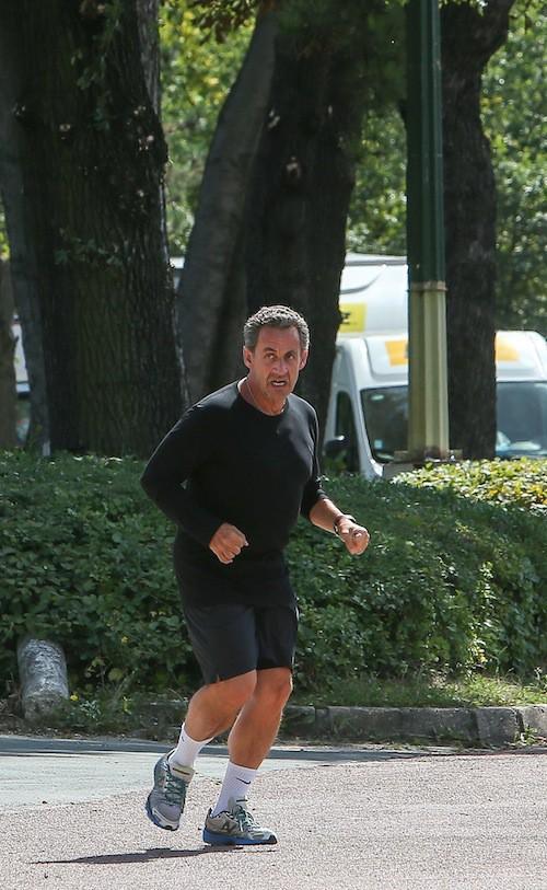 Photos : Nicolas Sarkozy : fin des vacances et remise en forme avant une rentrée décisive !