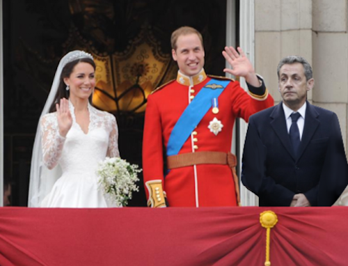Avec Kate et William
