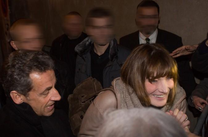 Nicolas Sarkozy : toujours là pour soutenir Carla !