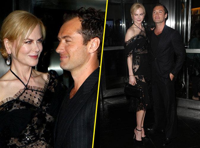 Photos : Nicole Kidman et Jude Law : Un peu trop complices sur le tapis rouge ...