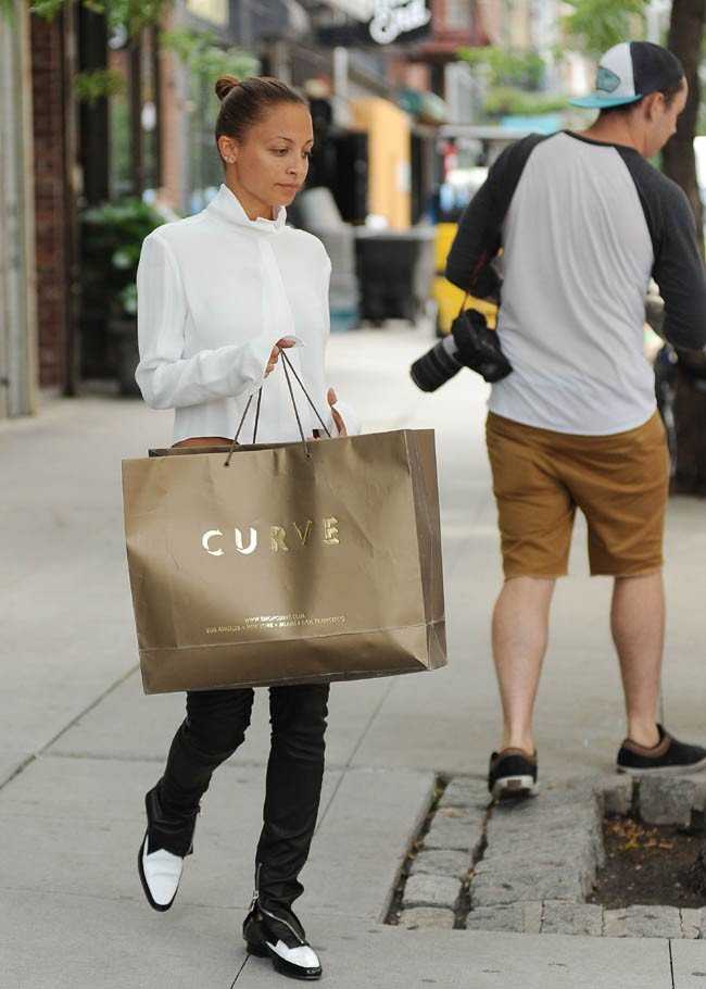 Nicole Richie à New-York le 7 août 2013