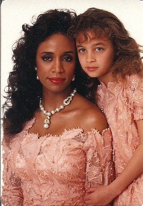 Nicole et sa mère Brenda