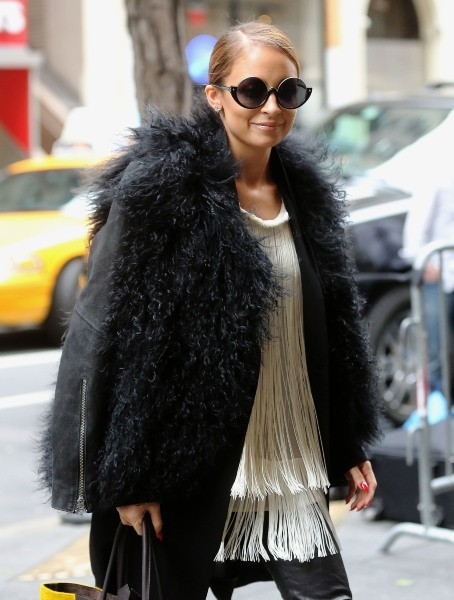 Nicole Richie le 7 mars 2013 à New York