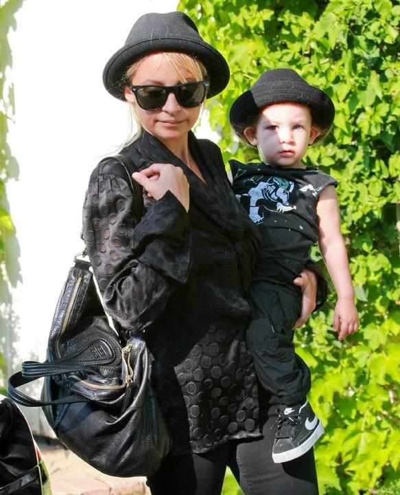 Nicole Richie et son fils Sparrow !