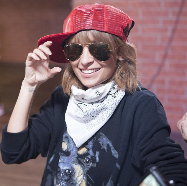 Nicole Richie en mode hip-hop !