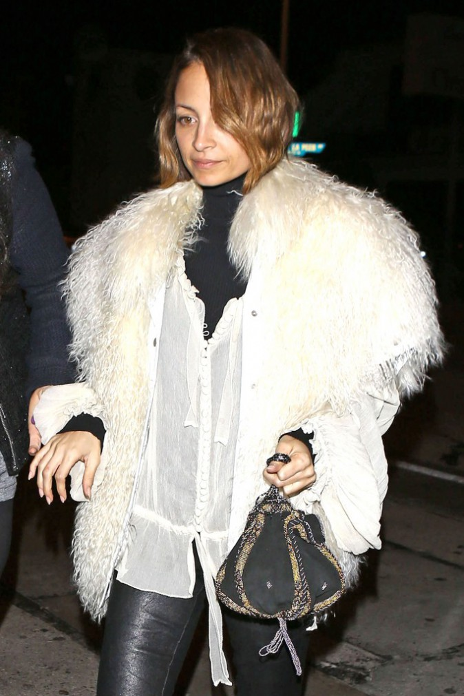 Nicole Richie à West Hollywood, le 5 février 2014.