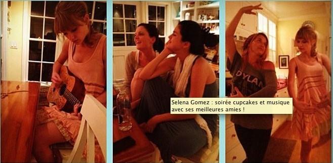 Selena Gomez et Taylor Swift