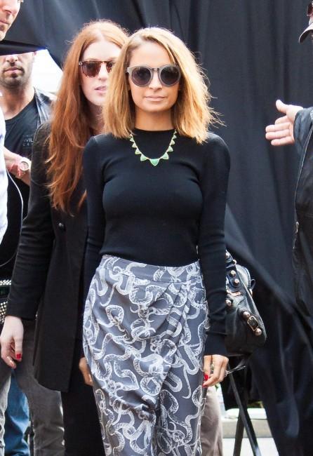 Nicole Richie à Los Angeles, le 7 février 2013.