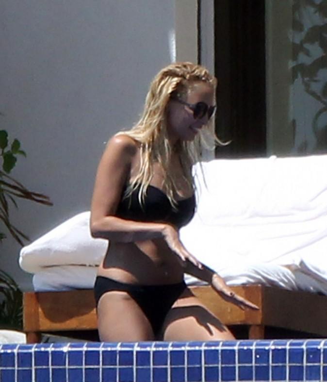 Nicole Richie à Los Cabos au Mexique, le 24 septembre 2011.