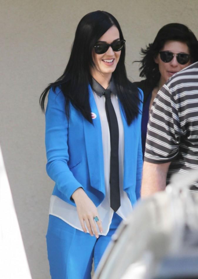 Katy Perry à Los Angeles le 6 novembre 2012