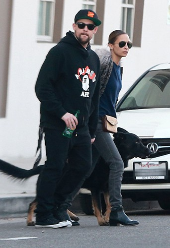 Nicole Richie et Joel Madden à Los Angeles le 27 décembre 2013
