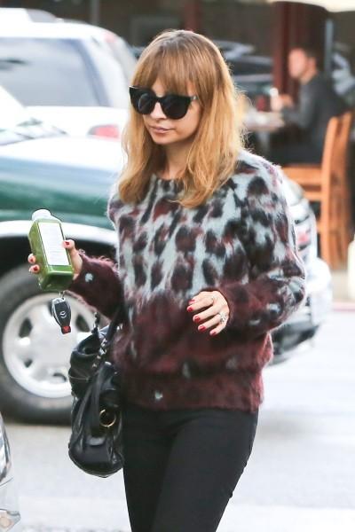 Nicole Richie le 1er décembre 2012 à Studio City