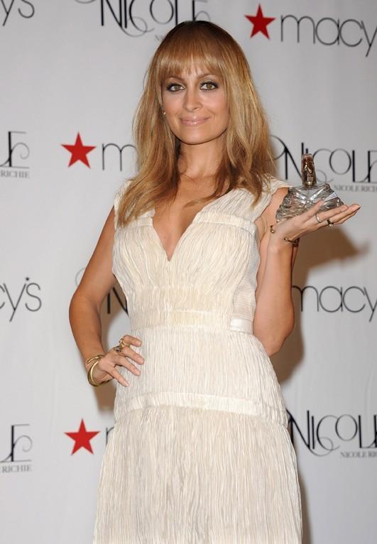 Nicole Richie pour le lancement de son parfum à Los Angeles le 29 août 2012