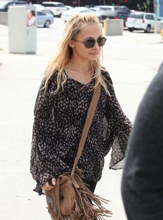 Nicole Richie à Studio City, le 6 avril 2011.