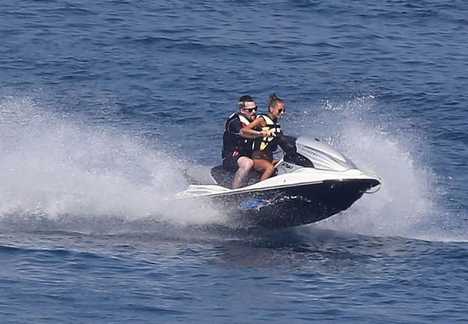 Nicole Richie poursuit ses vacances en famille dans le Golfe de Saint-Tropez le 26 juillet 2013
