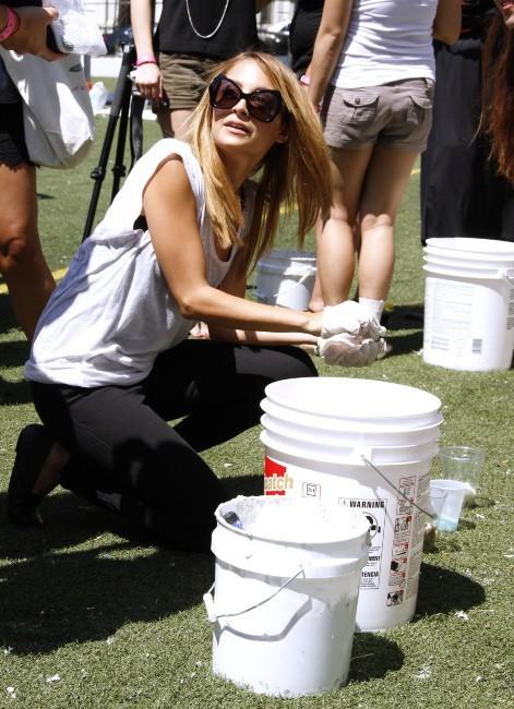 Nicole Richie à New York, le 10 juillet 2012.