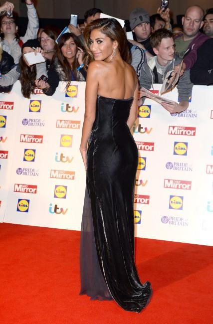 """Nicole Scherzinger lors de la soirée des """"Pride of Britain Awards 2013"""" à Londres, le 7 octobre 2013."""