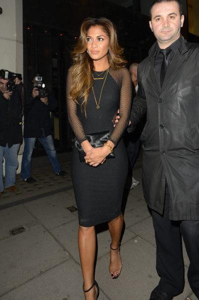 Nicole Scherzinger à Londres, le 17 mars 2014.