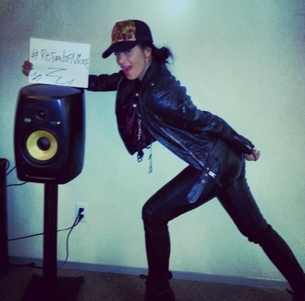 Nicole Scherzinger crée le buzz pour son nouvel album le 16 janvier 2013