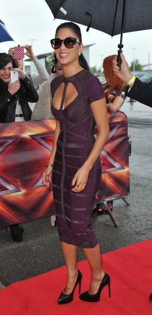 Nicole Scherzinger le 14 juin 2013 à Manchester