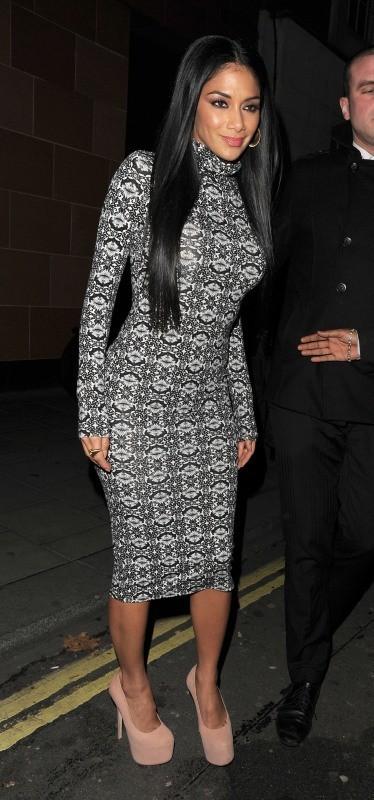 Nicole Scherzinger le 18 novembre 2012 à Londres