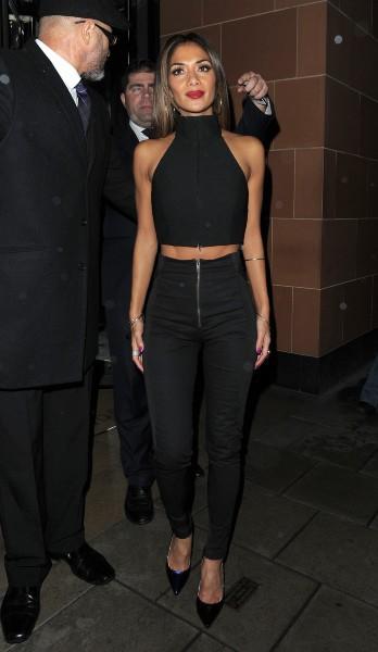 Nicole Scherzinger à Londres, le 17 novembre 2013.
