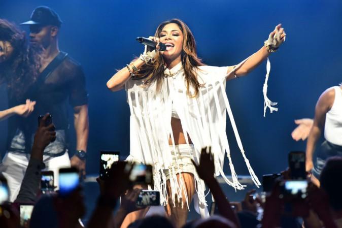 Nicole Scherzinger en concert à Manille le 14 février 2015