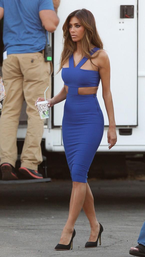 Nicole Scherzinger à Los Angeles le 20 janvier 2014