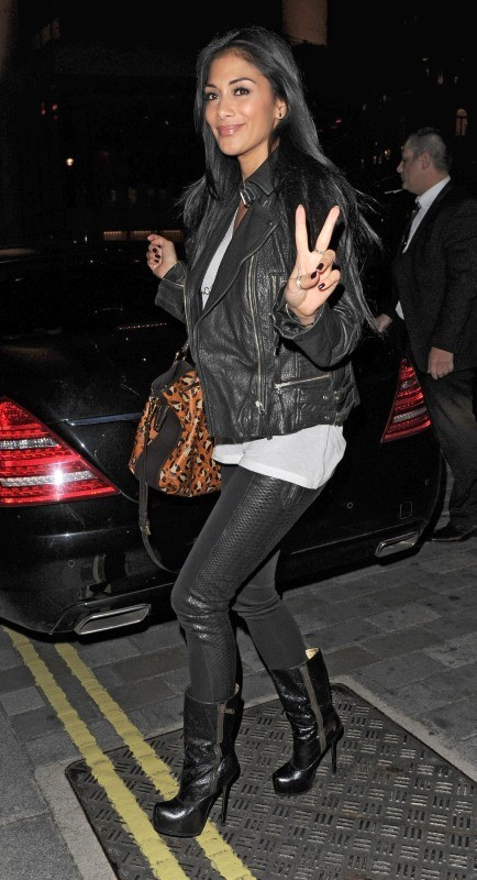 Nicole Scherzinger le 10 octobre 2012 à Londres