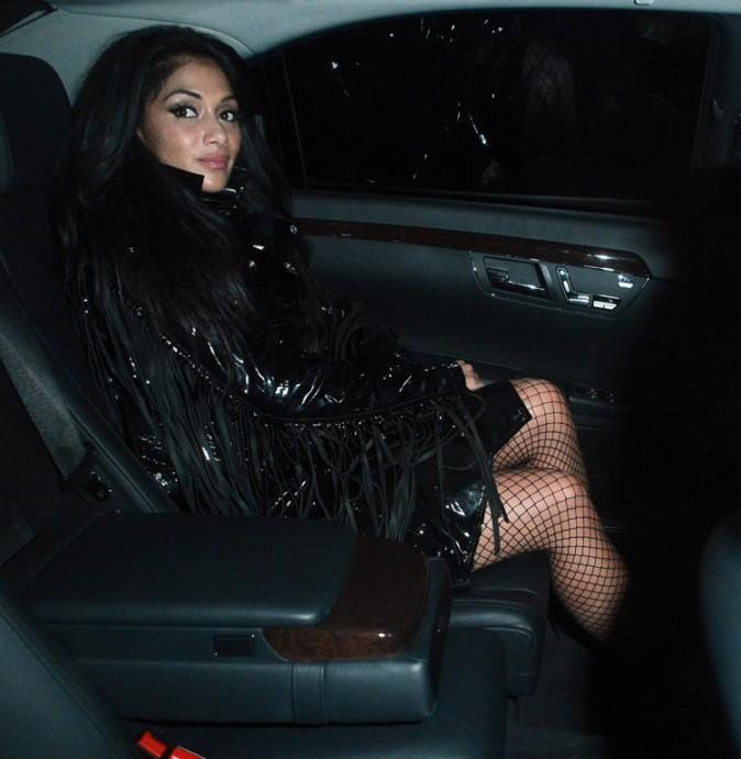 Nicole Scherzinger à Londres le 24 octobre 2012