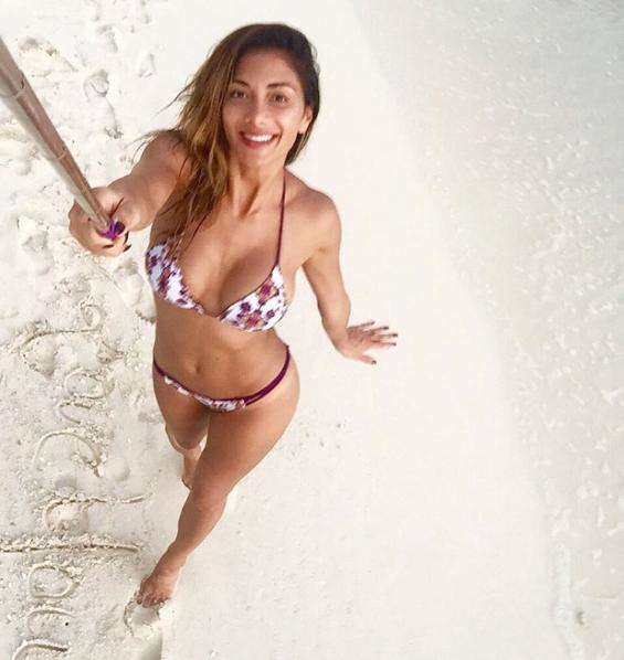 Photos : Nicole Scherzinger : sexy en micro-bikini aux Maldives