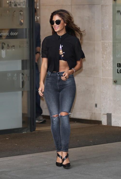 Photos : Nicole Scherzinger : topless dans la rue, où est le problème ?