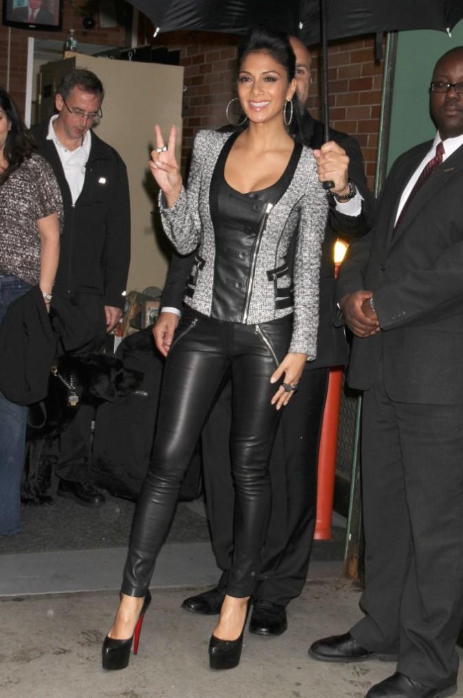 Nicole Scherzinger à New York, le 12 octobre 2011.