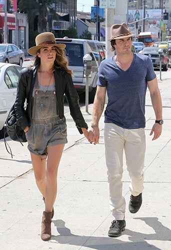 Nikki Reed et Ian Somerhalder à Los Angeles le 7 septembre 2014