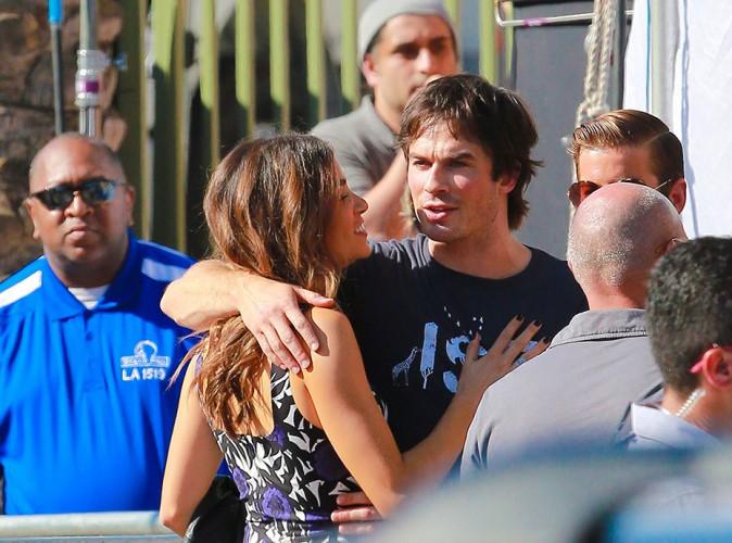 Nikki Reed et Ian Somerhalder à Los Angeles le 10 août 2014