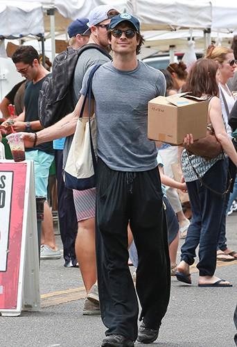 Ian Somerhalder à Los Angeles le 20 juillet 2014