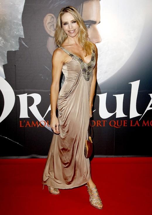 Tonya Kynzinger à la générale de Dracula