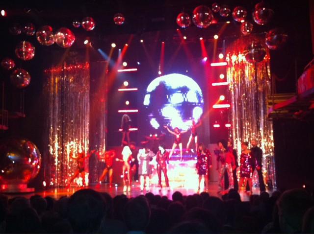 Première du musical D.I.S.C.O. à Paris, le 10 octobre 2013.